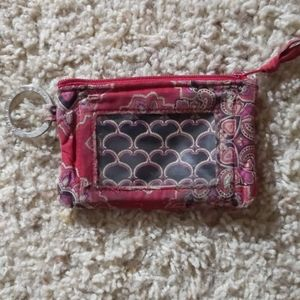 Vera Bradley Zip ID Case *used*
